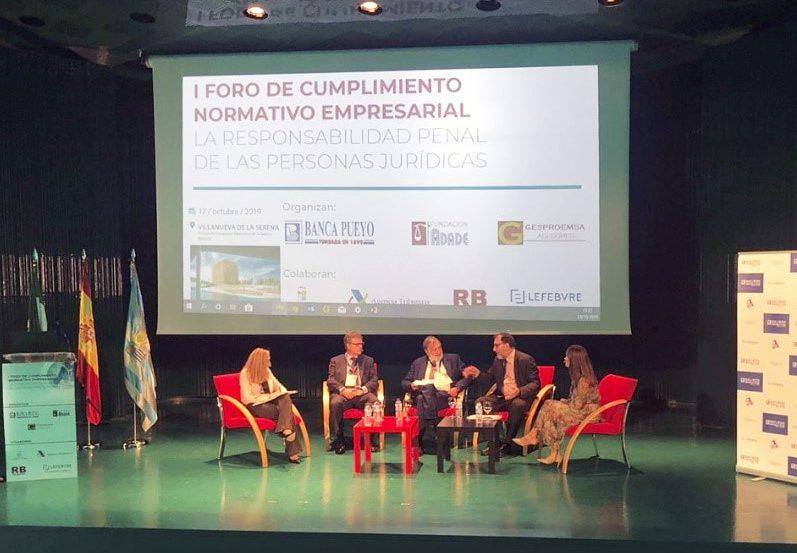 La Fundación ADADE Inicia, Con El Primer Foro De Cumplimiento Normativo Empresarial, Su Estratégia De Celebrar Importantes Eventos, Con Personalidades Y Expertos Relevantes, También Fuera De Las Grandes Ciudades De Madrid Y Barcelona