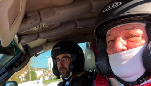 Nuestro Compañero Elías Del Val, De ADADE Burgos, Segundo Clasificado A La Regularidad, En El Rally Baja TT Dehesa Extremadura