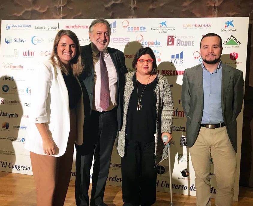 La Fundación ADADE Y ADADE Agrupación Colaboran En El I Congreso De La Mujer: Empleo, Emprendimiento Y Microempresas