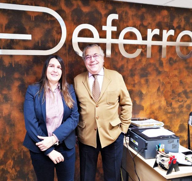 En Ruta: Anna Calduch, Presidenta De E-Consulting/Grupo ADADE, Visita A Despachos De La RED En Diferentes Provincias
